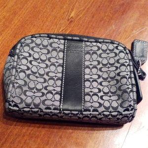 Coach coin/ small make up bag